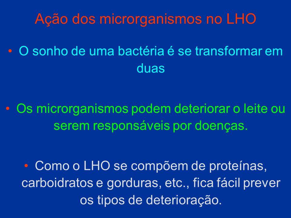 Ação dos microrganismos no LHO