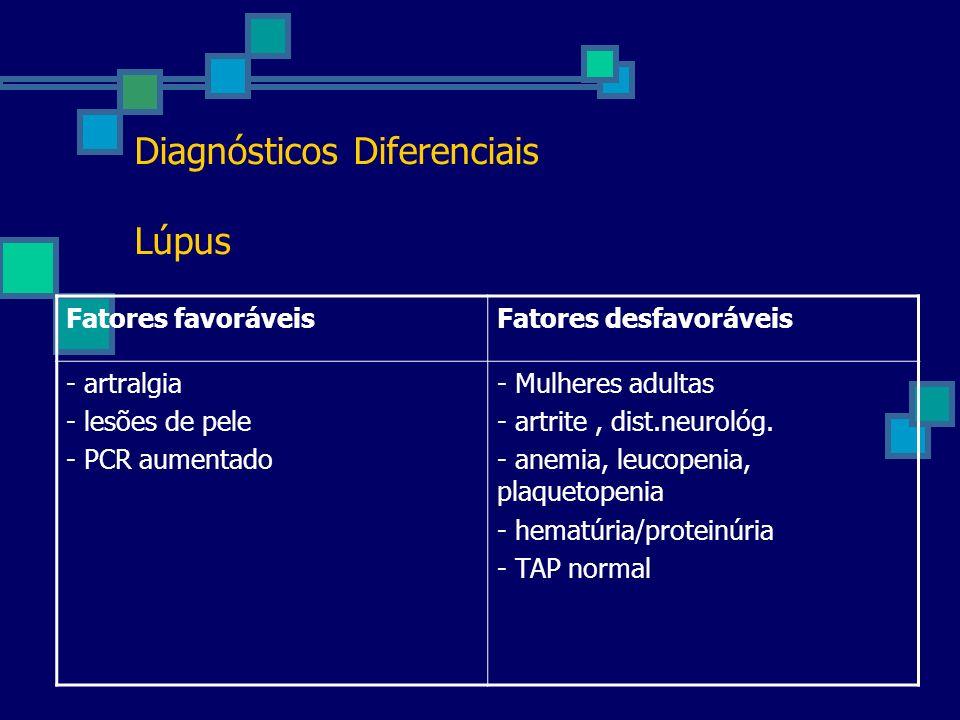 Diagnósticos Diferenciais Lúpus