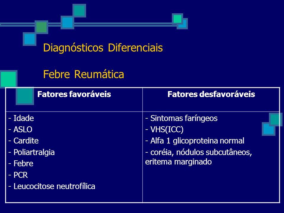 Diagnósticos Diferenciais Febre Reumática