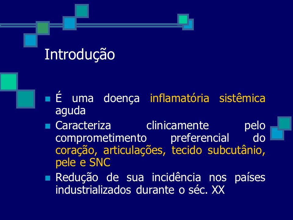 Introdução É uma doença inflamatória sistêmica aguda