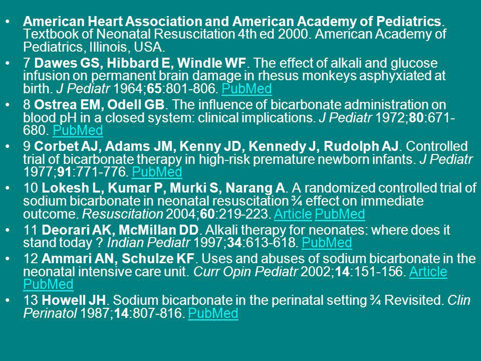 American Heart Association and American Academy of Pediatrics