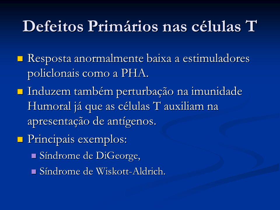 Defeitos Primários nas células T