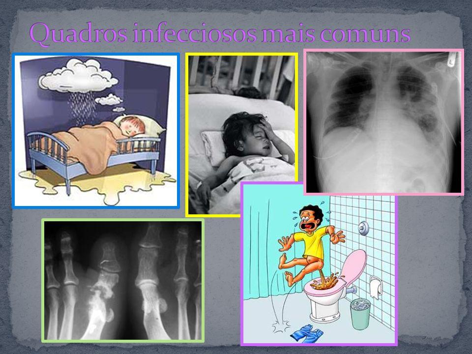 Quadros infecciosos mais comuns