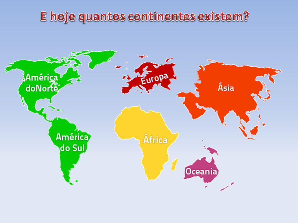 E hoje quantos continentes existem