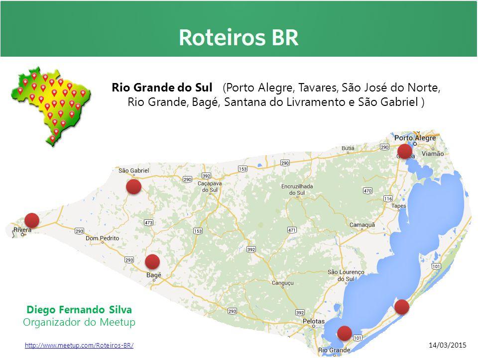 Rio Grande do Sul (Porto Alegre, Tavares, São José do Norte,