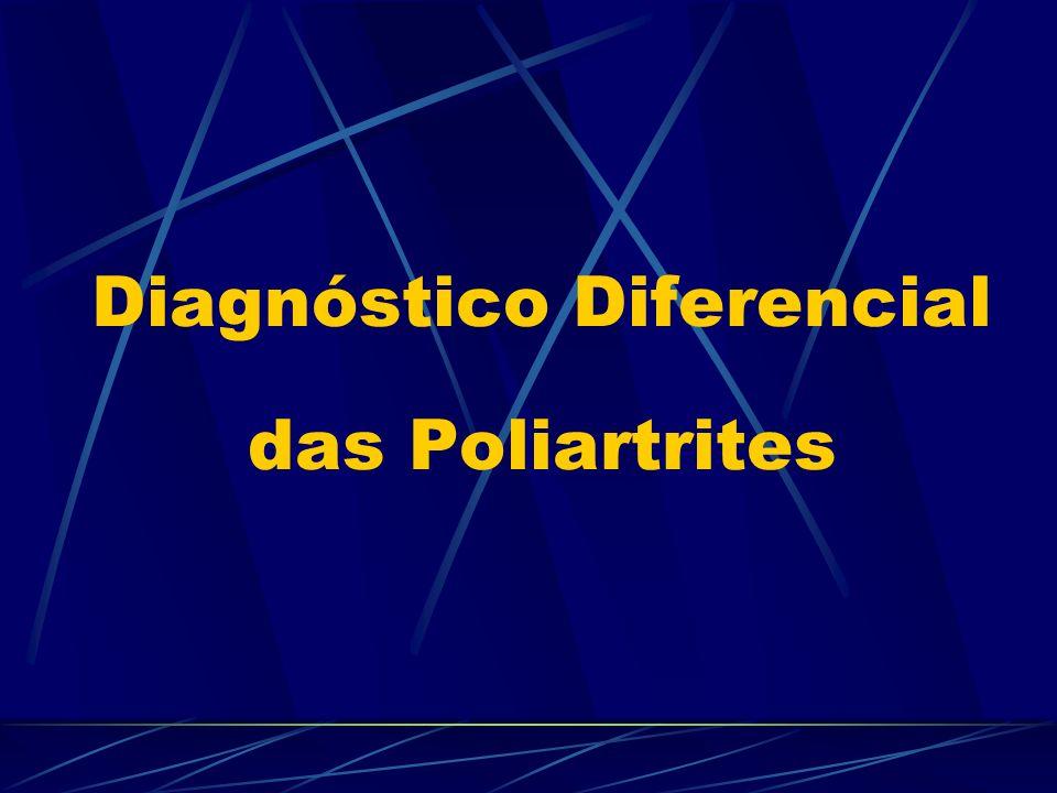 Diagnóstico Diferencial das Poliartrites