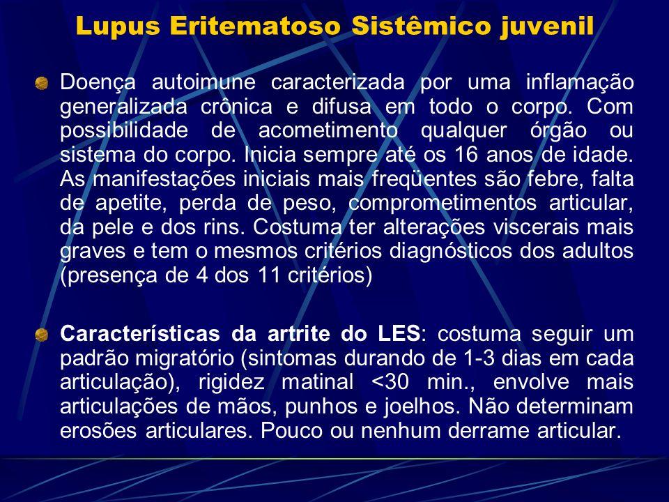 Lupus Eritematoso Sistêmico juvenil