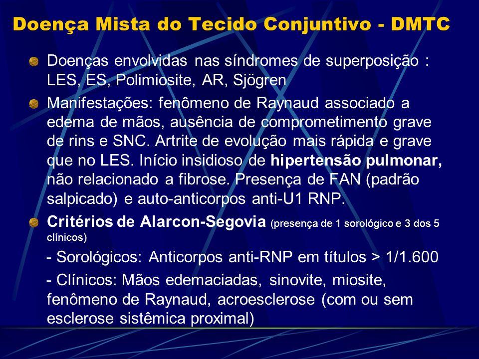 Doença Mista do Tecido Conjuntivo - DMTC