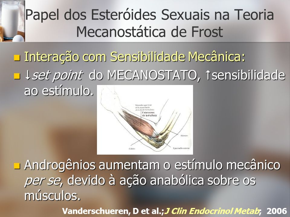 Papel dos Esteróides Sexuais na Teoria Mecanostática de Frost