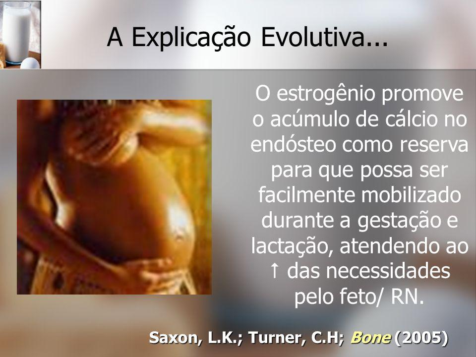 A Explicação Evolutiva...