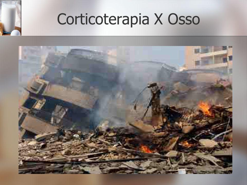 Corticoterapia X Osso
