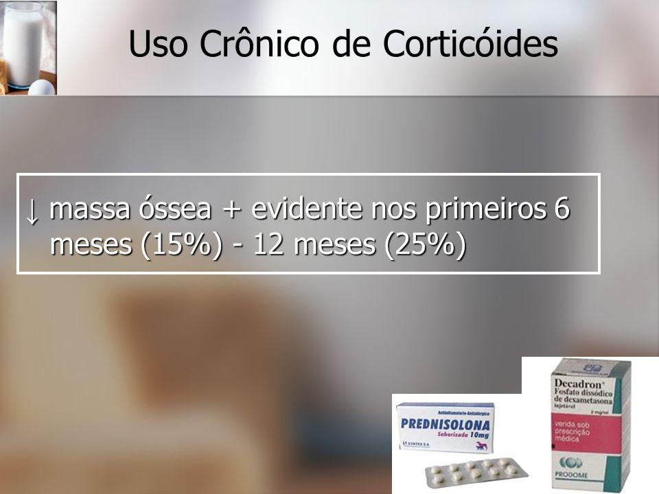 Uso Crônico de Corticóides
