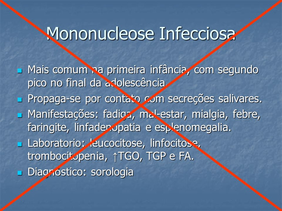Mononucleose Infecciosa