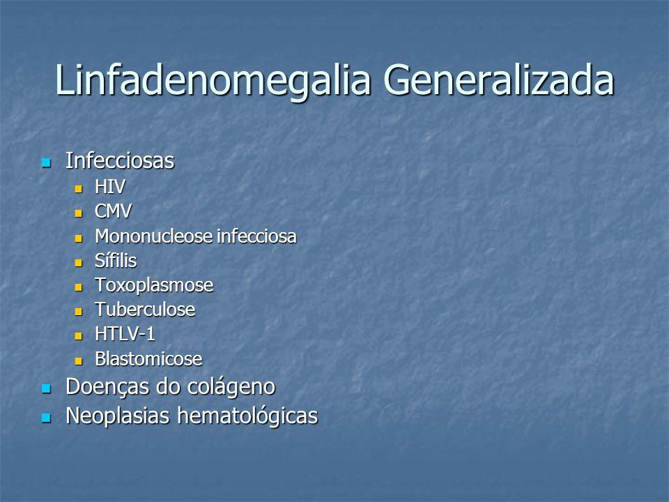 Linfadenomegalia Generalizada