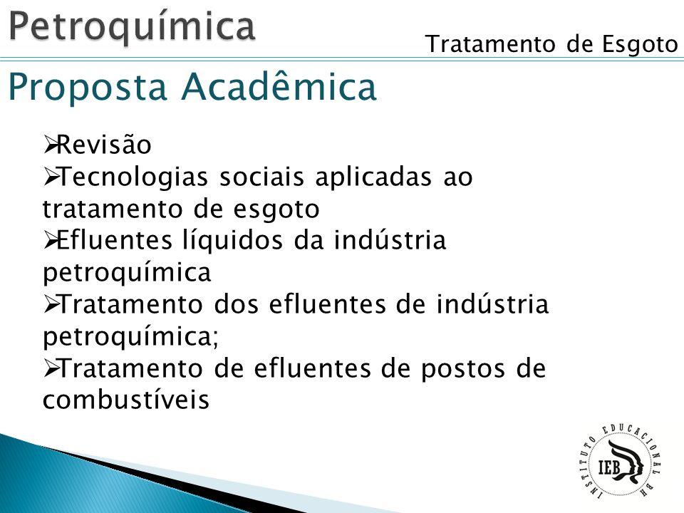 Petroquímica Proposta Acadêmica Revisão