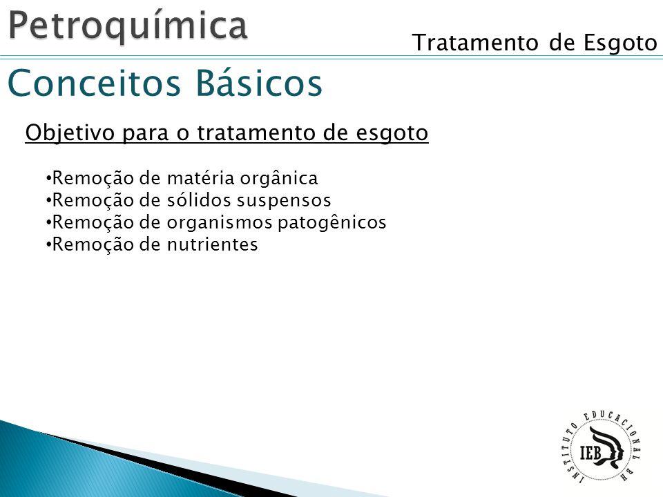 Petroquímica Conceitos Básicos Tratamento de Esgoto