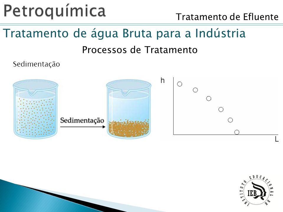 Petroquímica Tratamento de água Bruta para a Indústria