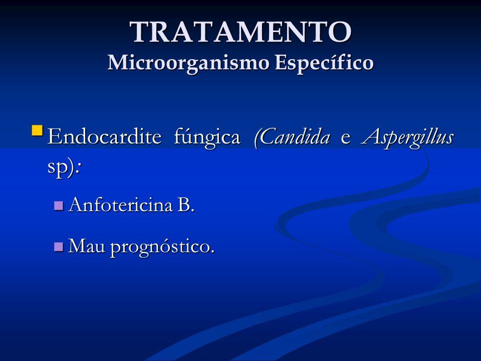 TRATAMENTO Microorganismo Específico