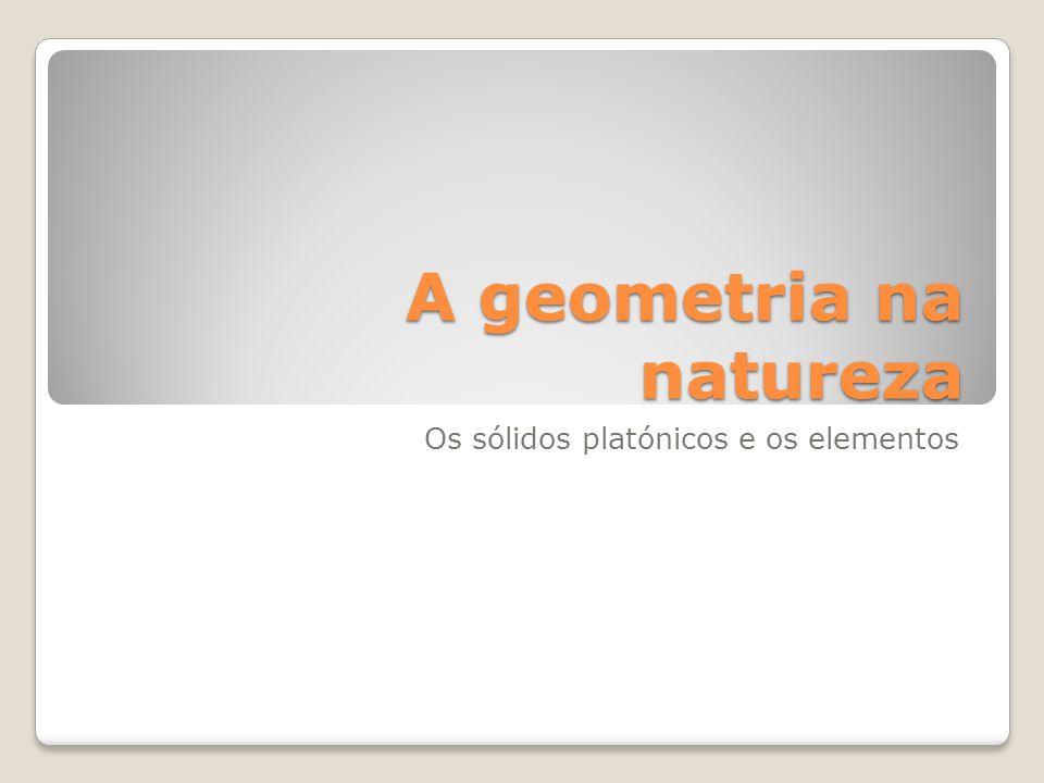 A geometria na natureza