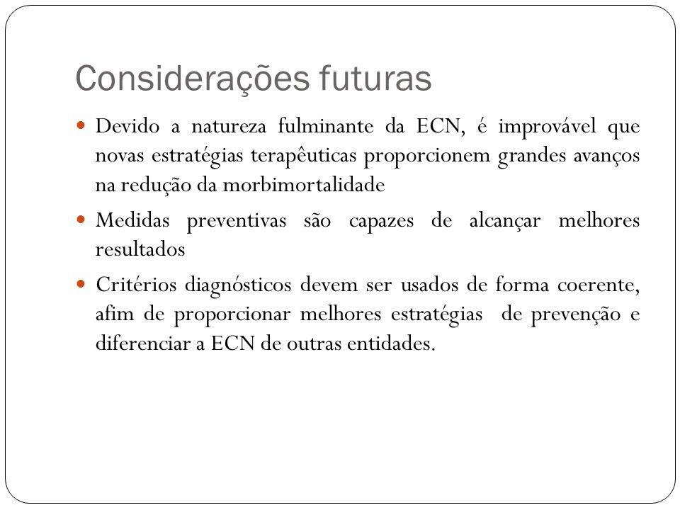 Considerações futuras