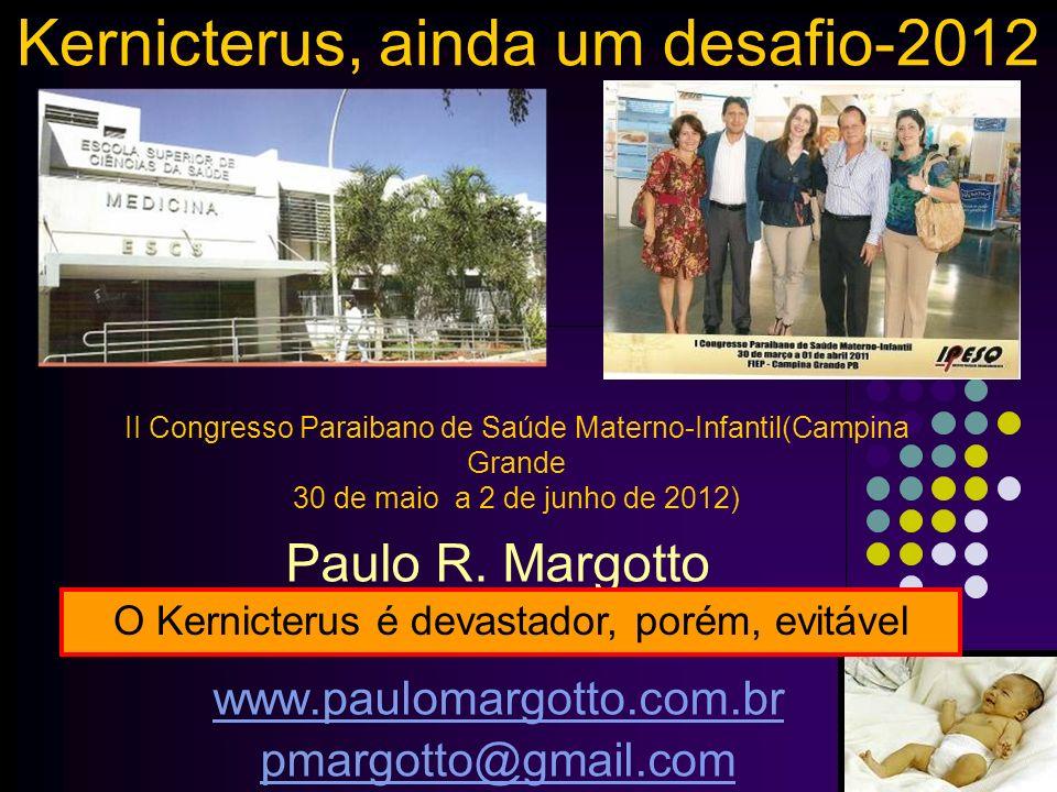 Kernicterus, ainda um desafio-2012