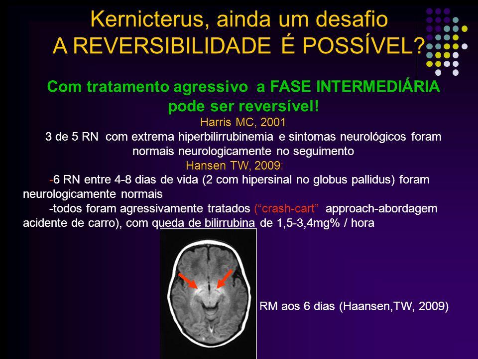 Com tratamento agressivo a FASE INTERMEDIÁRIA pode ser reversível!