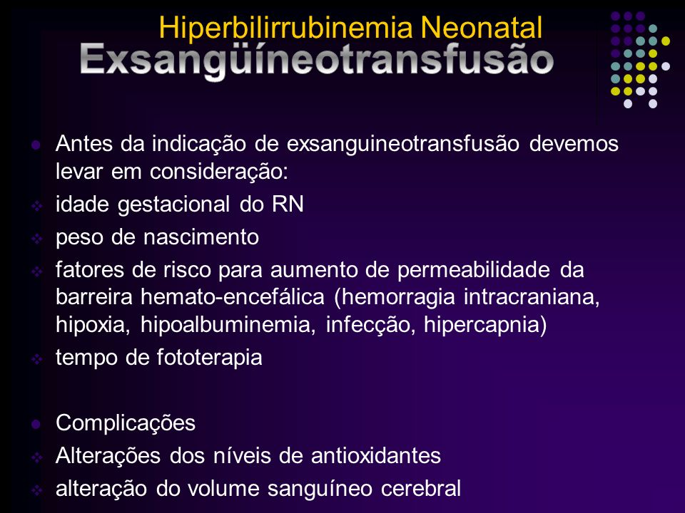 Exsangüíneotransfusão