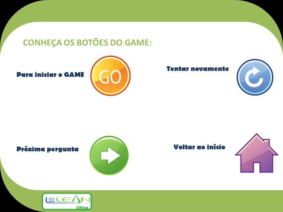 CONHEÇA OS BOTÕES DO GAME: