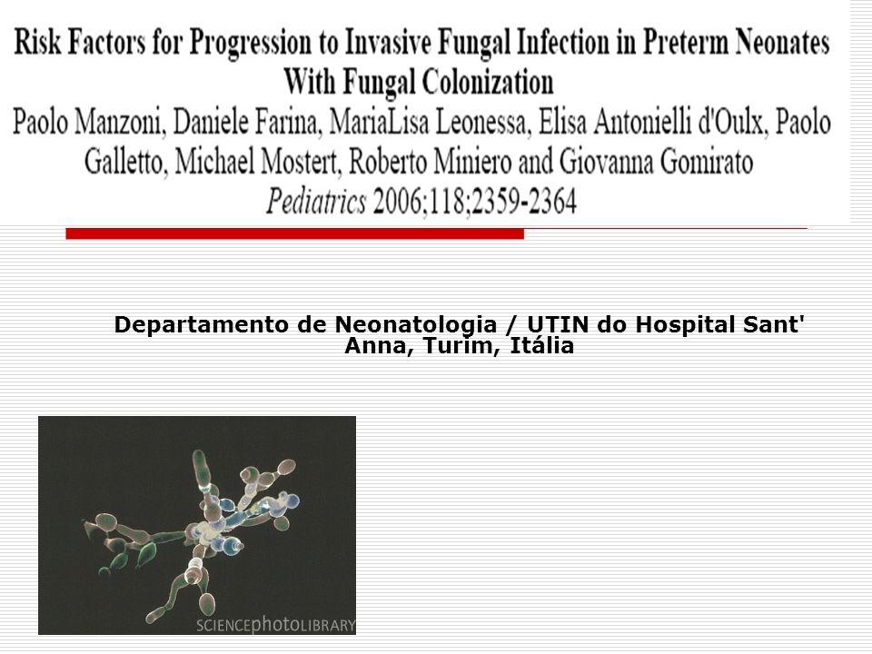 Departamento de Neonatologia / UTIN do Hospital Sant Anna, Turim, Itália