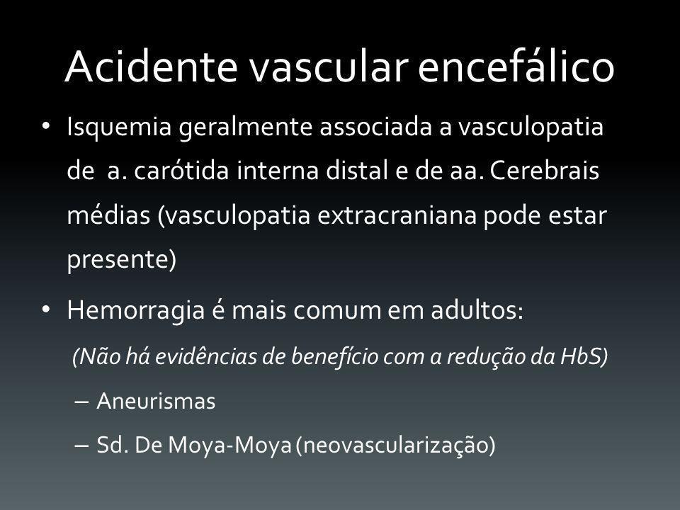 Acidente vascular encefálico
