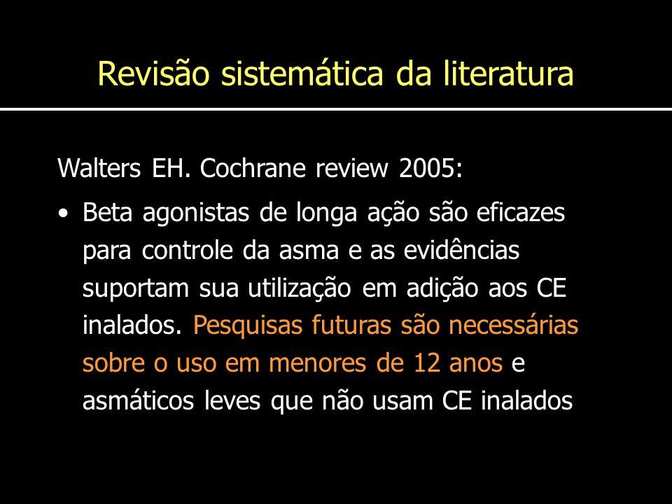 Revisão sistemática da literatura