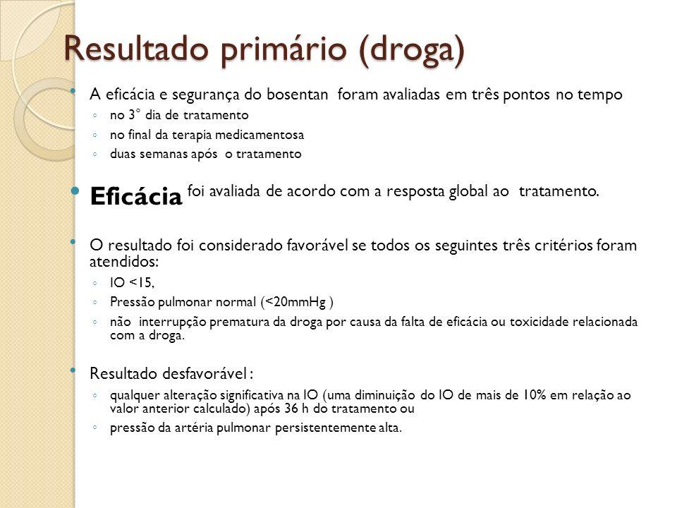 Resultado primário (droga)