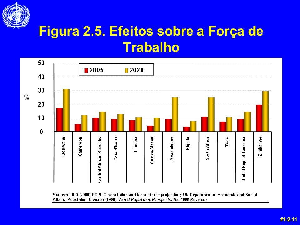 Figura 2.5. Efeitos sobre a Força de Trabalho