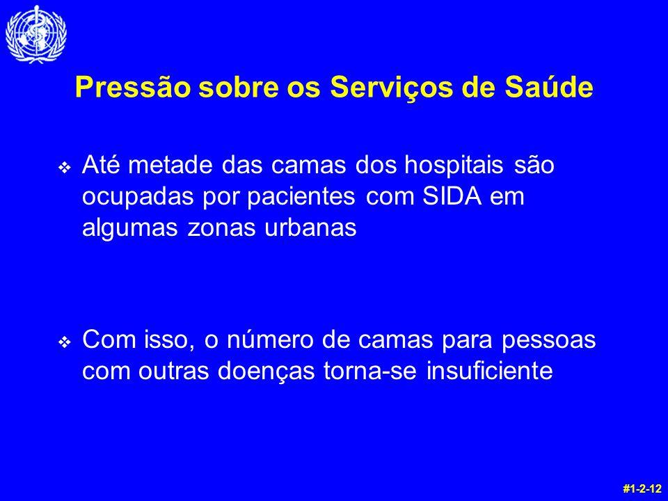 Pressão sobre os Serviços de Saúde
