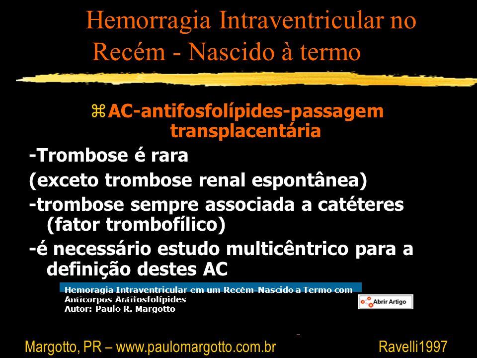 AC-antifosfolípides-passagem transplacentária