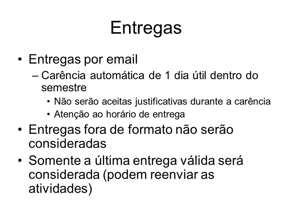 Entregas Entregas por email