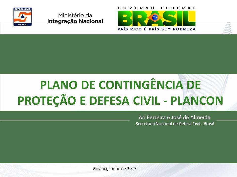 PLANO DE CONTINGÊNCIA DE PROTEÇÃO E DEFESA CIVIL - PLANCON Civil
