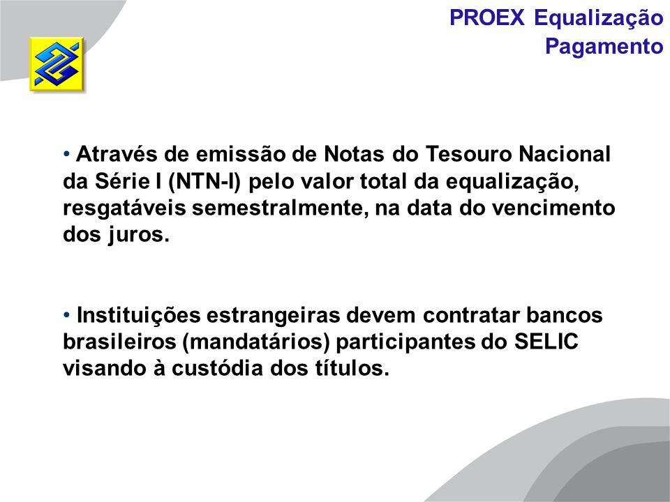 PROEX Equalização Pagamento.