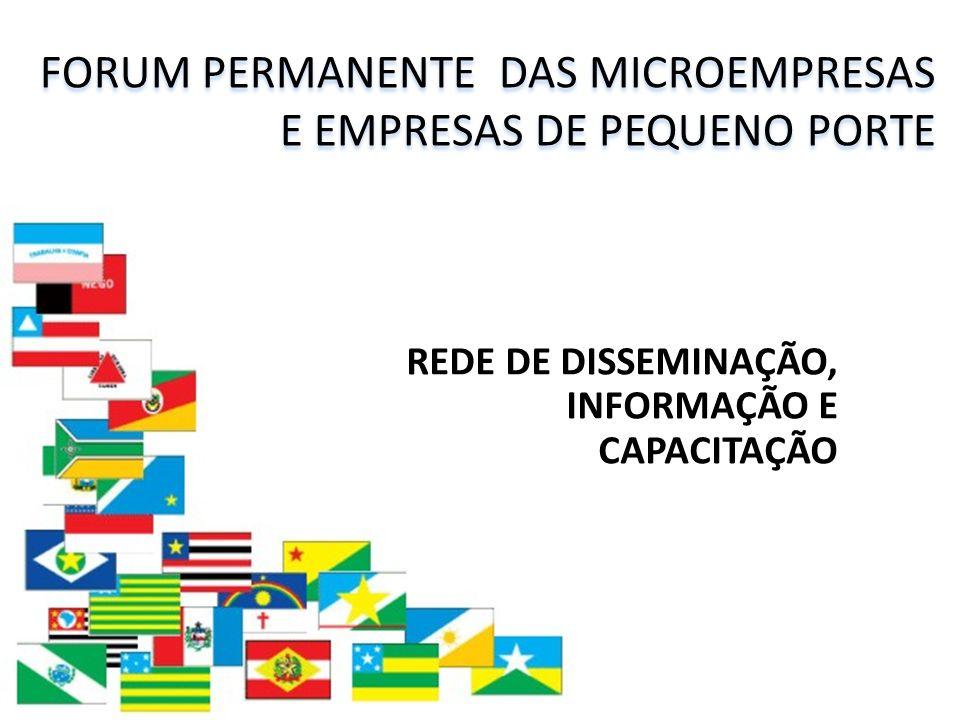 FORUM PERMANENTE DAS MICROEMPRESAS E EMPRESAS DE PEQUENO PORTE