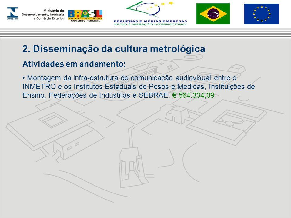 2. Disseminação da cultura metrológica
