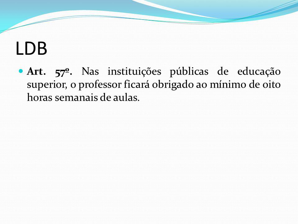 LDB Art. 57º.