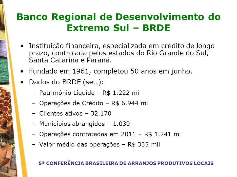 Banco Regional de Desenvolvimento do Extremo Sul – BRDE
