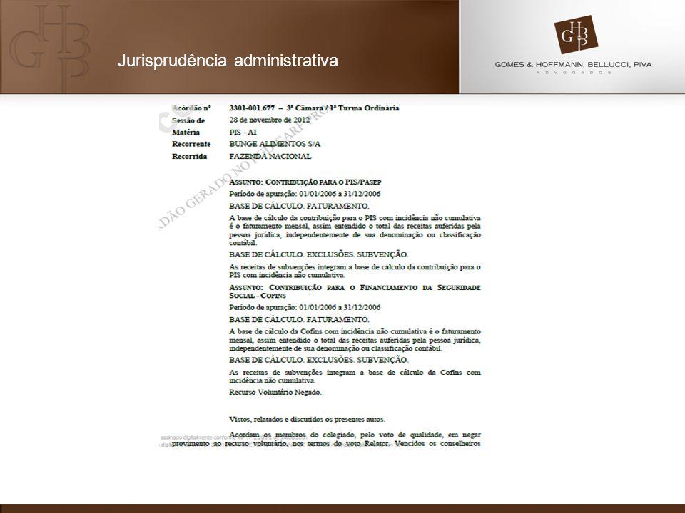 Jurisprudência administrativa