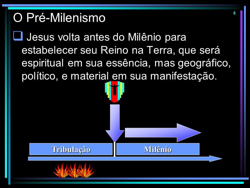 O Pré-Milenismo