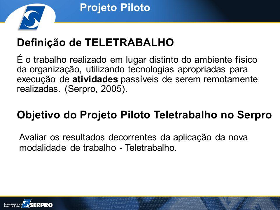 Definição de TELETRABALHO