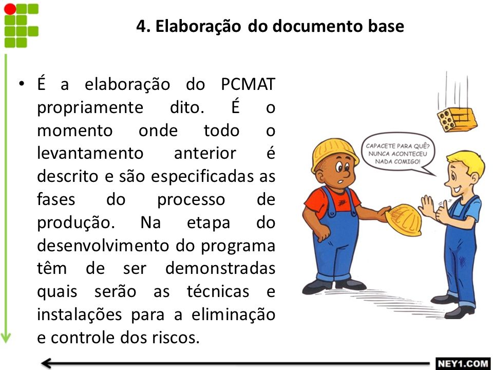 4. Elaboração do documento base