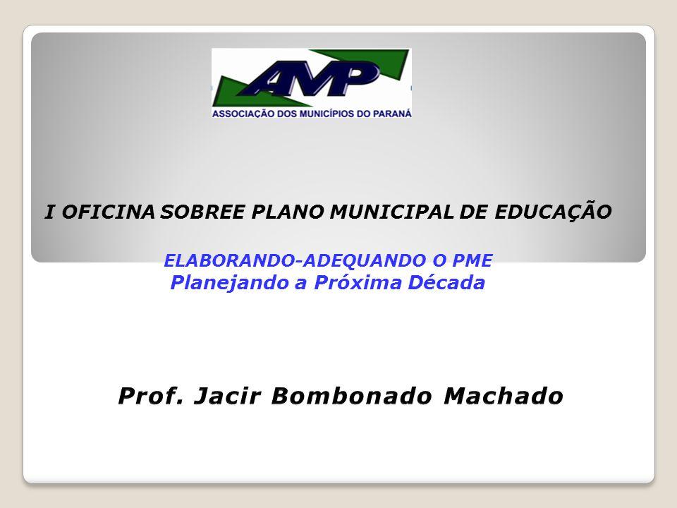 Prof. Jacir Bombonado Machado