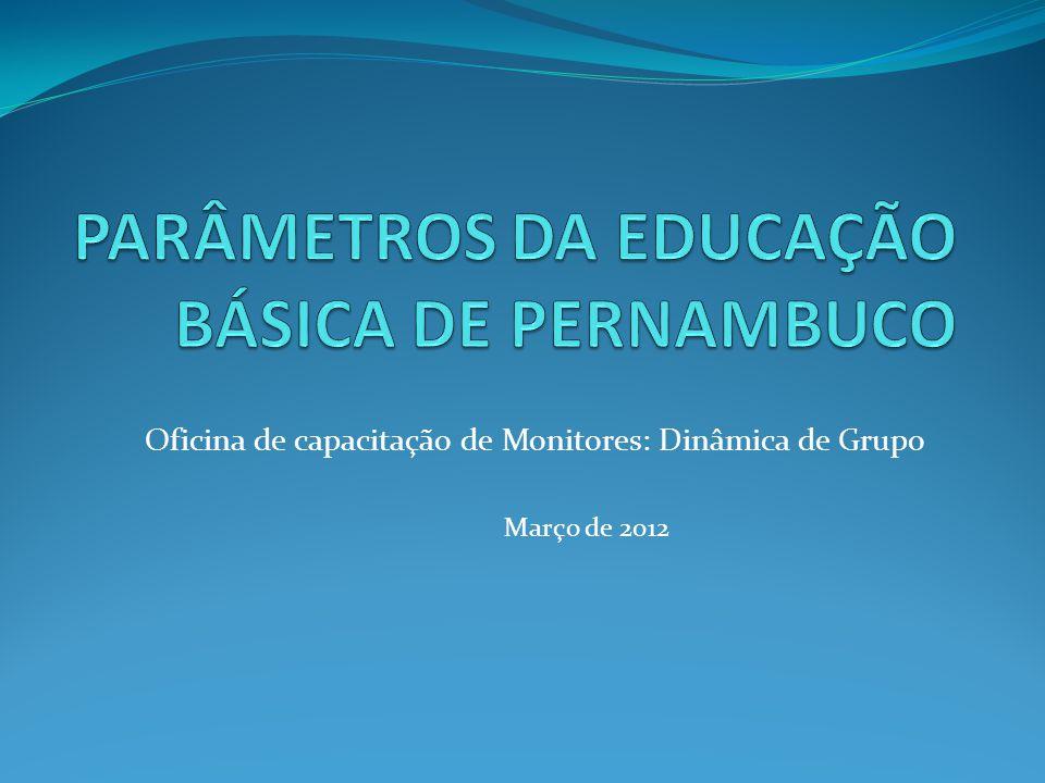 PARÂMETROS DA EDUCAÇÃO BÁSICA DE PERNAMBUCO