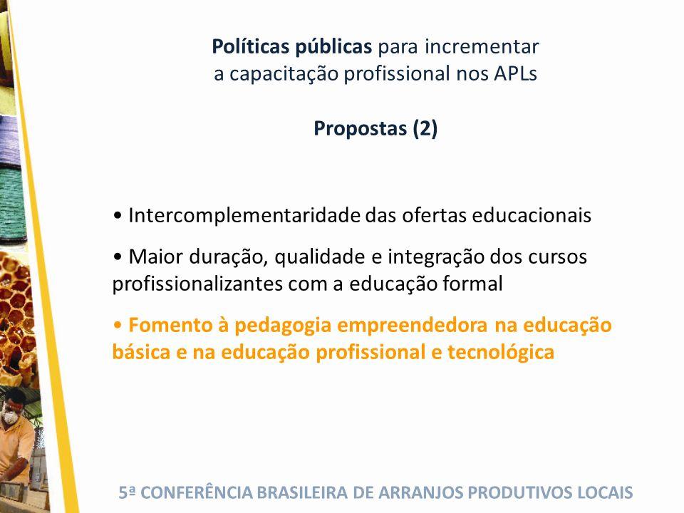 Políticas públicas para incrementar