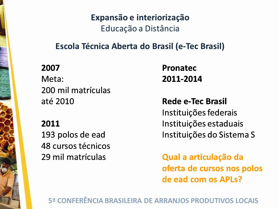 Escola Técnica Aberta do Brasil (e-Tec Brasil)